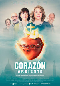 """Cartel oficial película """"CORAZÓN ARDIENTE"""""""